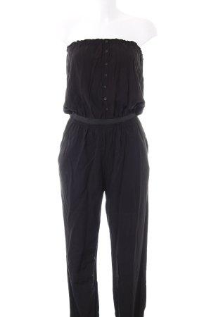 Even & Odd Jumpsuit schwarz schlichter Stil