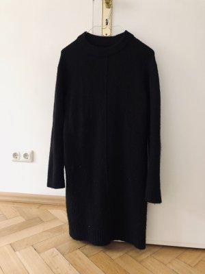Even & Odd Kleid Pulloverkleid Sweatkleid XS 34 schwarz
