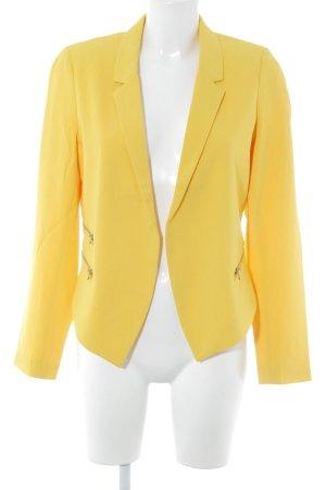 Even & Odd Blazer corto giallo scuro stile casual