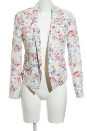 Even & Odd Kurz-Blazer florales Muster Paris-Look