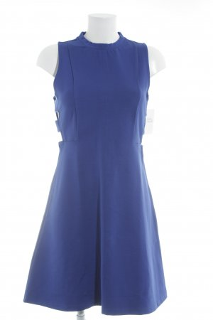 Even & Odd Midikleid blau Elegant