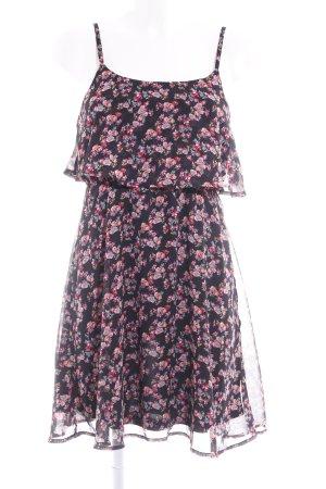 Even & Odd Minikleid Blumenmuster Casual-Look