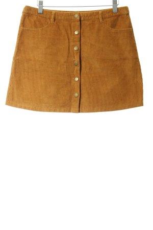 Even & Odd Minirock orange-goldfarben Casual-Look