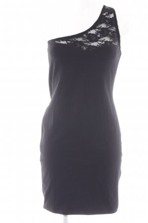 Even & Odd One-Shoulder-Kleid schwarz Elegant