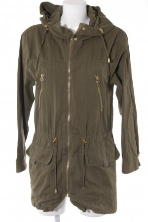 Even & Odd Parka khaki Casual-Look