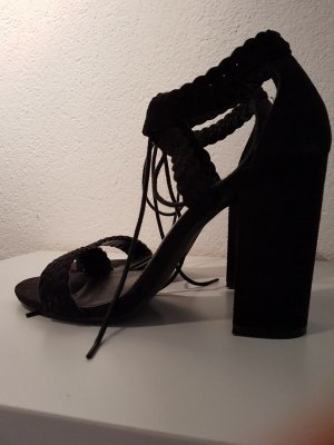 Even & Odd Platform High-Heeled Sandal black