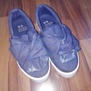 Even & Odd Pantoffels donkerblauw