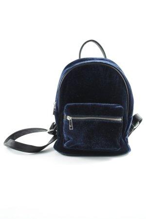 Even & Odd Schulrucksack schwarz-dunkelblau Casual-Look