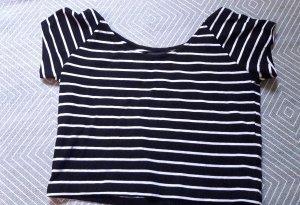 Even&Odd Shirt Cropshirt Cropped Streifen Crop