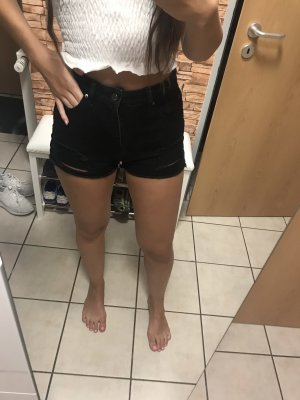 Even & Odd High-Waist-Shorts black