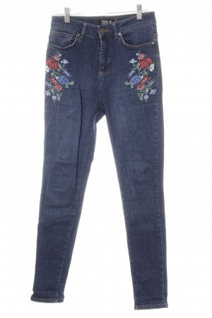 Even & Odd Skinny Jeans Blumenmuster Casual-Look