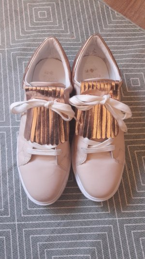 Even & Odd Sneaker Sneakers Tassel Golf Rosémetallic Roségold Nude 40