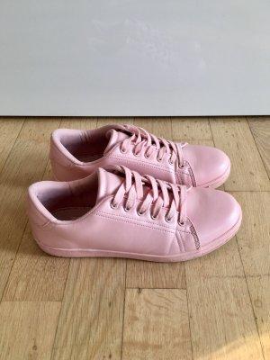 EVEN&ODD Sneaker Turnschuhe Tennisschuhe Schnürer rosa pink