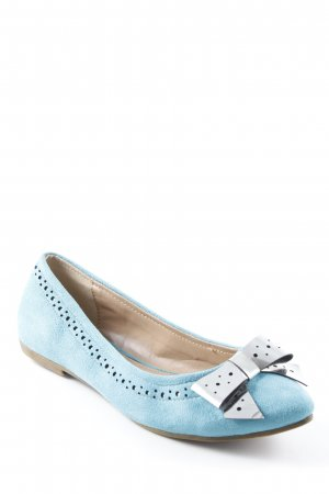 Even & Odd Spitz-Pumps kadettblau-silberfarben Elegant