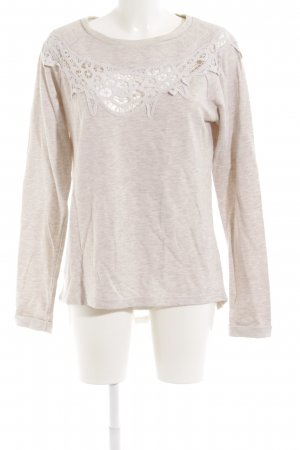 Even & Odd Sweatshirt hellbeige Casual-Look