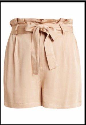 Even & Odd High-Waist-Shorts nude