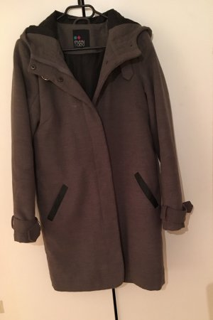 Even & Odd Hooded Coat light grey-grey