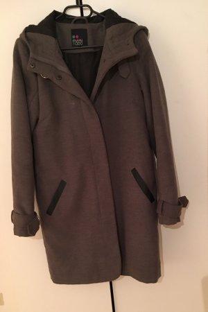 Even & Odd Cappotto con cappuccio grigio chiaro-grigio