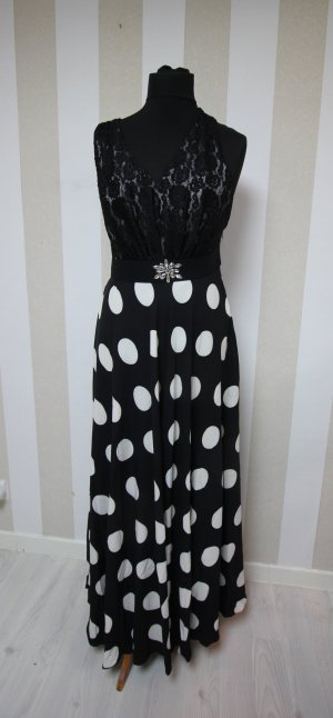 EVER PRETTY ABENDKLEID MAXIKLEID POLKA DOTS PUNKTE COCKTAILKLEID