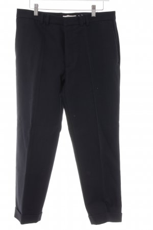 every.day.counts Bundfaltenhose dunkelblau Business-Look