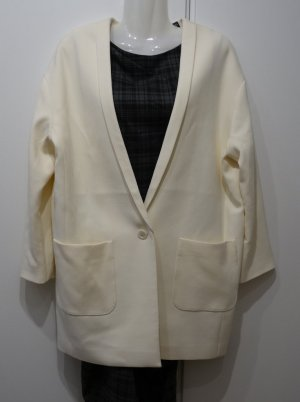 Every. Day. Counts. Esprit oversized Blazer creme Gr.S 36/38 eggshape Clean Chic