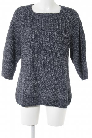 every.day.counts Oversized Pullover dunkelblau-wollweiß