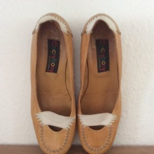 Everybody Loafers goud Oranje-wit