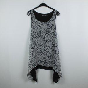 Evil Twin Kleid Gr. S schwarz grau gemustert (19/06/249)