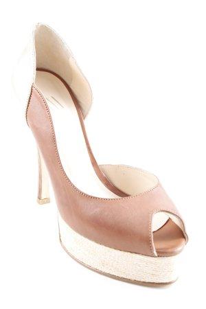 Evita High Heels mehrfarbig Materialmix-Look