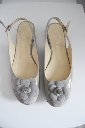 Evita Made in Italy Schuhe gr.38 sommer lack