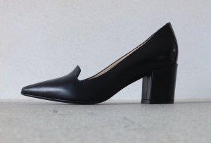Evita Pumps aus Leder schwarz
