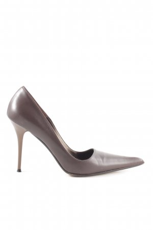 Evita Spitz-Pumps braun Business-Look