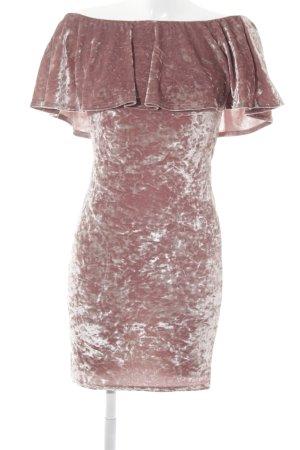 Evita Stretchkleid roségoldfarben-altrosa Casual-Look