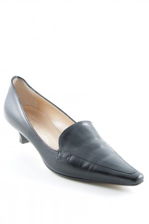Evita Loafer nero stile professionale