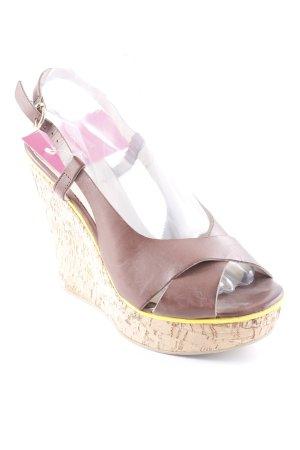 Evita Wedges Sandaletten mehrfarbig Casual-Look