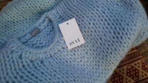 *EVYI* Oversized Pullover himmelblau Deluxe NEUWERTIG NP €350,-
