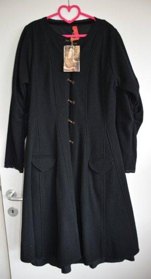 Cappotto in lana nero Lana
