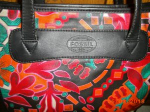 Excl. FOSSIL Handtasche KeyPer Dots Shopper mehrfarbig