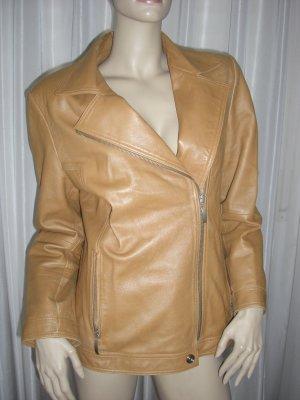 Madeleine Leather Jacket russet