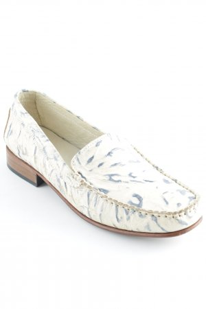 Exclusive Donna by L. Lambertazzi Moccasins slate-gray-cream casual look