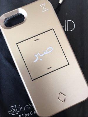 Exclusive Hoesje voor mobiele telefoons goud-wit