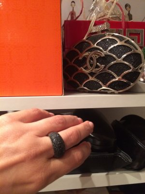 Exclusiver DKNY Ring