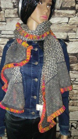 Passigatti Bufanda de lana multicolor Lana
