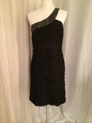 Unique Boutique Cocktail Dress black silk