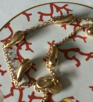 "exclusives Armband"" Teardrop"" 925 Silber- vergoldet"