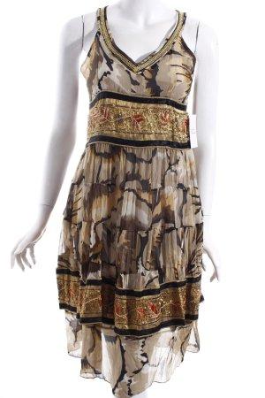 EXEX A-Linien Kleid mehrfarbig extravaganter Stil