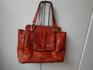 Chloé Handbag cognac-coloured leather