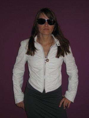 Exklusive Damen Lederjacke auf feinstem Lammnappa, Größe S