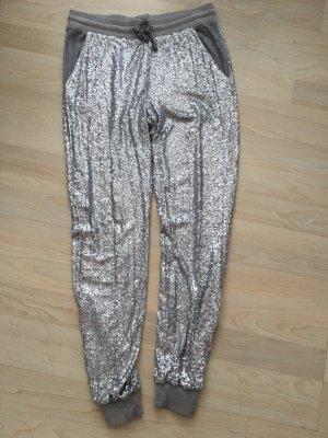 Marc Aurel Sweat Pants silver-colored