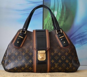 Louis Vuitton Handbag brown-black